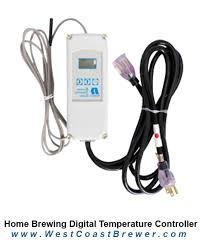 ranco temperature controller homebrewing brewers blog home brewing digital temperature controller
