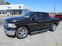 2011 Brilliant Black Crystal Pearl Dodge Ram 1500 Big Horn Crew ...