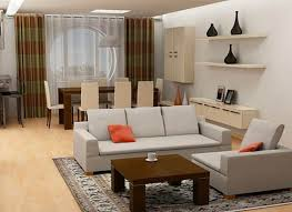 Open Concept Living Room Dining Room And Kitchen
