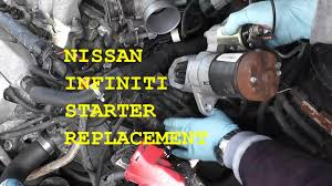 nissan maxima infiniti starter replacement basic hand tools nissan maxima infiniti starter replacement basic hand tools hd