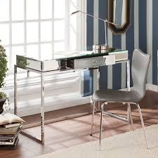 Mirrored office furniture Table Upton Home Adelie Mirrored Writing Desk Overstock Shopping Great Deals On Upton Home Desks Claras Room Pinterest Desk Writing Desk And Furniture The Home Depot Upton Home Adelie Mirrored Writing Desk Overstock Shopping