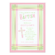 Catholic Baptism Invitations Catholic Christening Baptism Invitations Zazzle Ca
