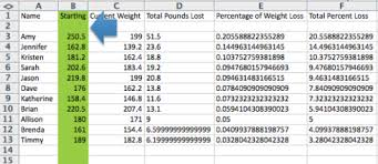 Weight Loss Challenge Spreadsheet Weight Loss Contest Spreadsheet Magdalene Project Org