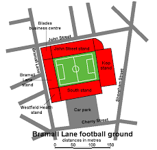 Bramall Lane Stadium Guide Seating Plan Tickets Hotels