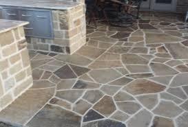 ok flag outdoor kitchen rockwall stone design