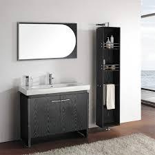 elegant black wooden bathroom cabinet. Wonderful Black Awesome Black Vanity Designs To Bring Elegance Into Bathrooms In Elegant Wooden Bathroom Cabinet O