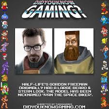 Half-Life's Gordon Freeman = Ivan The Space Biker : HalfLife