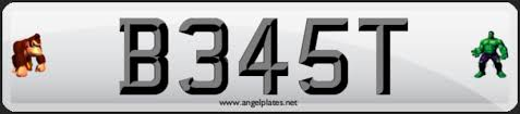 Letters By Number How Numbers Replace Letters On Number Plates