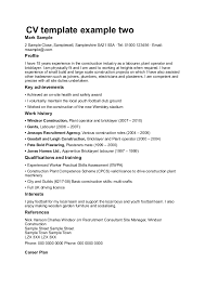 Modern Resume Template For Tradesmen Crest Example Resume And