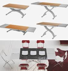tables transform from coffee to dinner