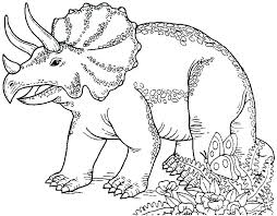 free printable cute dinosaur coloring pages realistic co