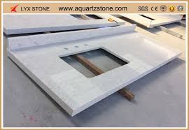man made stone bathroom countertops supplier from china