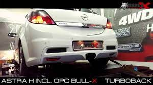Opel Astra H incl. OPC Exhaust Sound 76mm 3