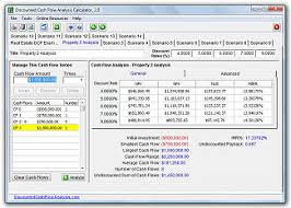 Discounted Cash Flow Analysis Examples Dcf Analysis Example