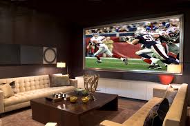 media rooms with big screen tv davotanko home interior alluringarge roundiving room mirrors window coverings wall