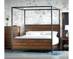 Black Wood Canopy Bed Wood Canopy Bed King Wood Canopy Bed King King ...