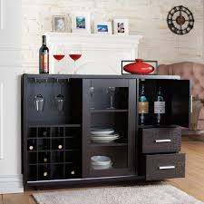 furniture of america julienne modern sliding door wine bar dining julienne modern sliding door wine bar dining server