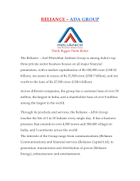 Reliance Offer Letter 18005421 Hr Reliance