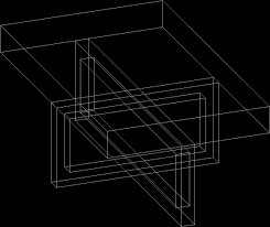 coffee table dwg model for autocad