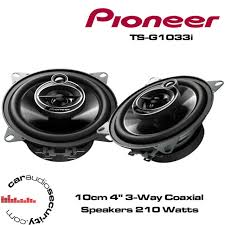 pioneer 4x6 speakers. pioneer ts-g1033i - 10cm 4\ 4x6 speakers