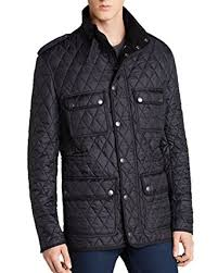 BURBERRY Brit Russell Diamond Quilted Jacket at Amazon Men's ... & Burberry Brit Russell Diamond Quilted Jacket (Small, Black) Adamdwight.com