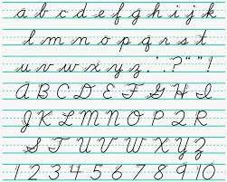 Posh handwriting