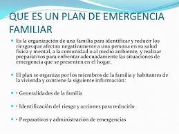plan de emergencias familiar 4 2 10 plan familiar de emergencias