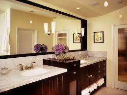 Accent Wall Bathroom Master Bathroom Wall Decor Black Pattern Marble Sink Table Dark