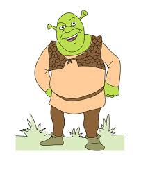 Small Picture Dragon Shrek Coloring Pages for Kids to Color and Print
