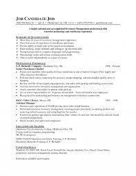Inventory Clerk Job Description For Resume Perfect Inventory Resume Description About Inventory Clerk Job 14