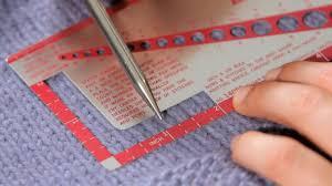 Knitting Stitch Gauge Chart How To Measure Gauge Knitting