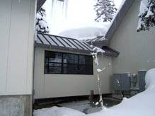 roof wires melt ice roof deicing ice dam prevention heat tracing heatizon systems