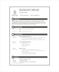 Resume Format Download For Freshers Director Fresher Resume Free