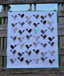Black Birds Quilt Pattern PDF Instant Download modern & Black Birds Quilt Pattern, PDF, Instant Download, modern patchwork, bird,  baby, cute, crib, baby quilt Adamdwight.com