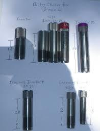 Briley Choke Tube Chart Briley Choke Tubes And Accessories