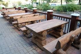 German Beer Hall Table U0026 Benches  Beer Garden Bench And Outdoor Beer Garden Benches