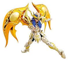 bandai figurine saint seiya myth cloth milo scorpion ex soul of gold 18cm 4549660147886 amazon ca sports outdoors