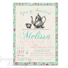 Tea Party Invitations Free Template Tea Party Invitation Templates To Print Free Printable Tea