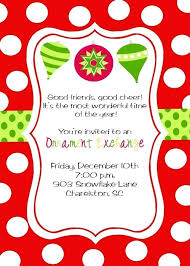 Christmas Wording Samples Christmas Party Announcement Samples Family Party Invitation Wording