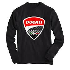 Ducati Size Chart Details About Ducati Corse 1 T Shirt Long Sleeves Black All Size