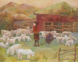 Горно Алтайская детская художественная школа имени В Н Костина Яимова Айару дипломная композиция