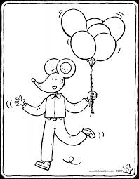 Verjaardag Colouring Pages Kiddicolour