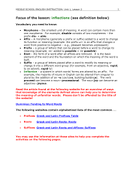 Word Origins Website Focus Of The Lesson Word Origins Derivations Inflections