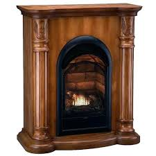 ventless gas fireplace insert inserts corner with logs