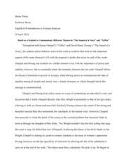 trifles women vs men in trifles by susan glaspell susan  4 pages english 19 essay 3 death as a symbol