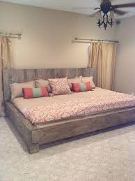 California king size bed | For the Home in 2019 | Diy bed frame, Diy ...