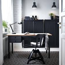 ikea uk home office. Fascinating Home Office Design With Desk And Sideboard In Black Wood Swivel Ikea Uk 0