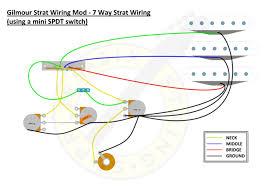 david gilmour guitar wiring diagram Strat 7 Way Wiring Diagram 7 Tone Mod Strat