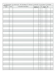 Printable Check Register Book 20 Checkbook Transaction Register Calendar 2018 2019 2020 Check Book