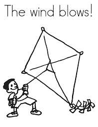 Small Picture kite coloring pages Kite Coloring Pages Pictures gif inside Kite